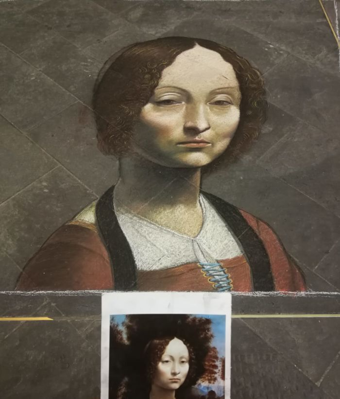 Ritratto di Ginevra D Benci, Leonardo da Vinci, Matteo Appignani