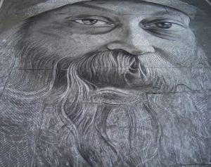 Madonnaro Street Art, Osho