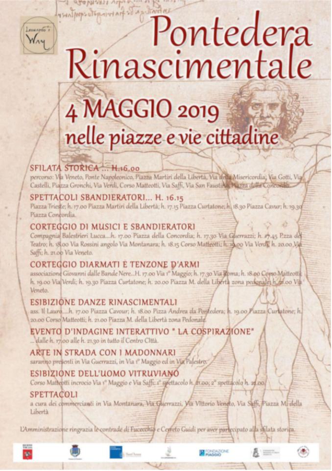Pontedera rinascimentale Leonardo Da Vinci